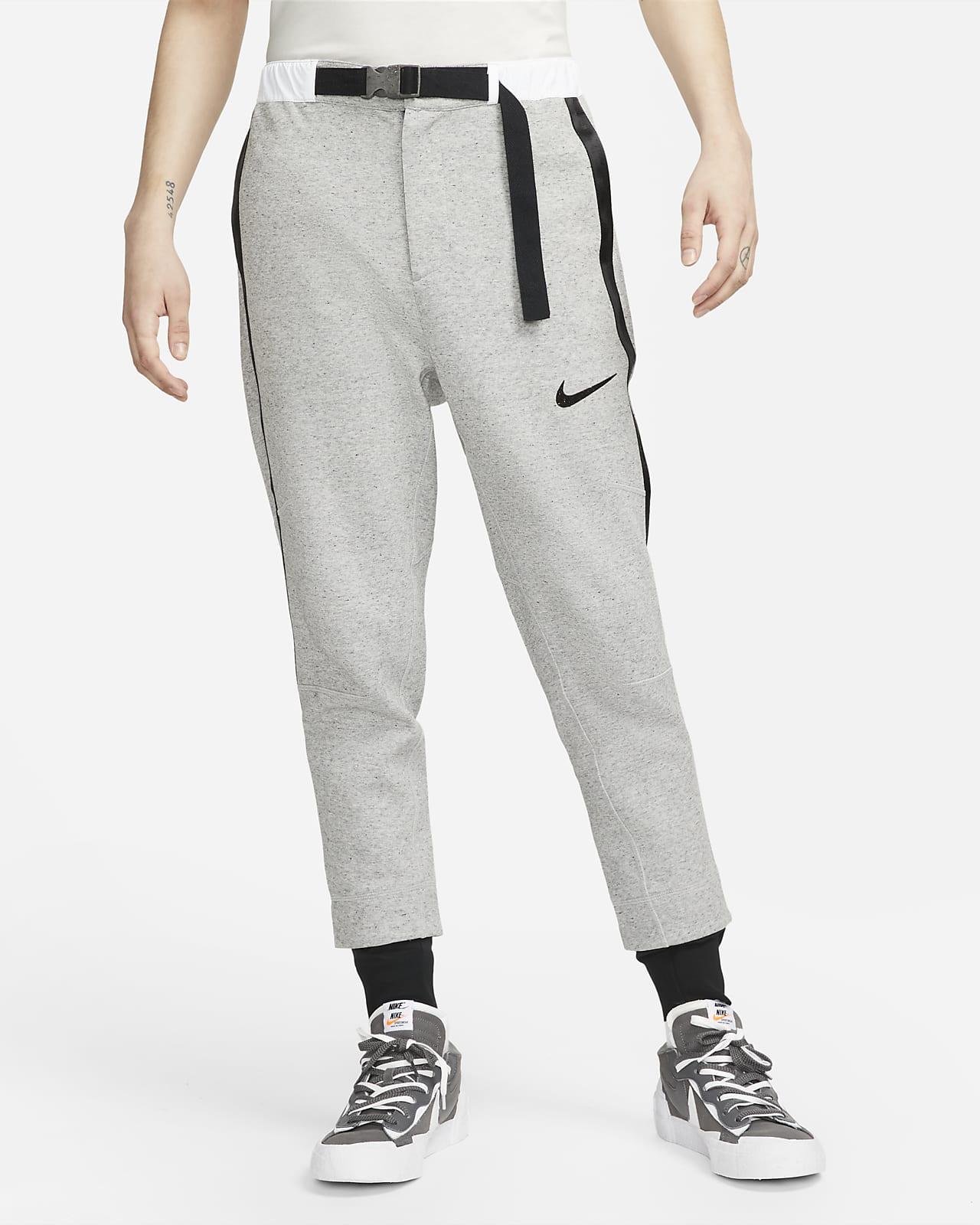 กางเกงขายาวผ้าฟลีซ Nike x sacai