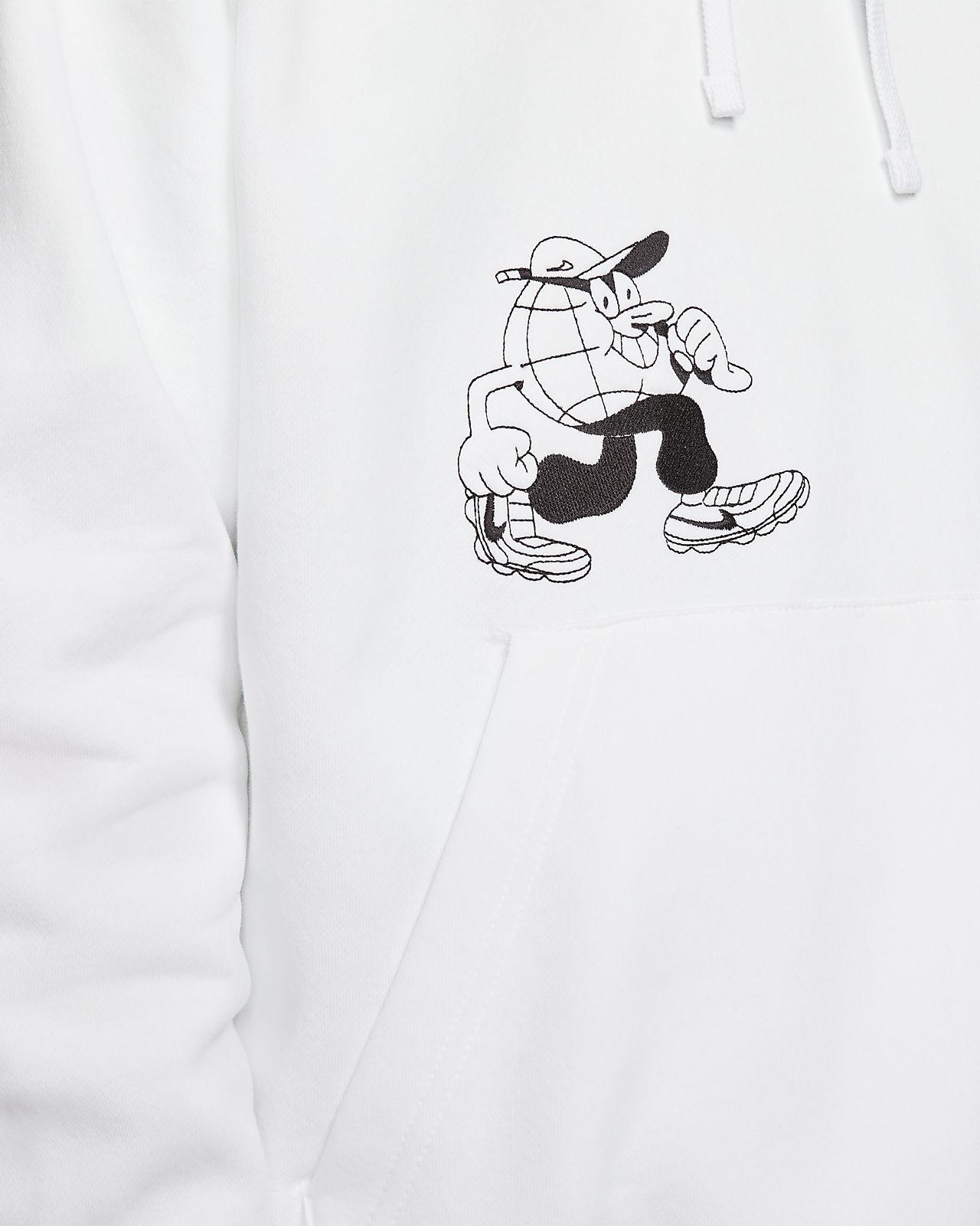 lugosis x nike sportswear fleece pullover hoodie