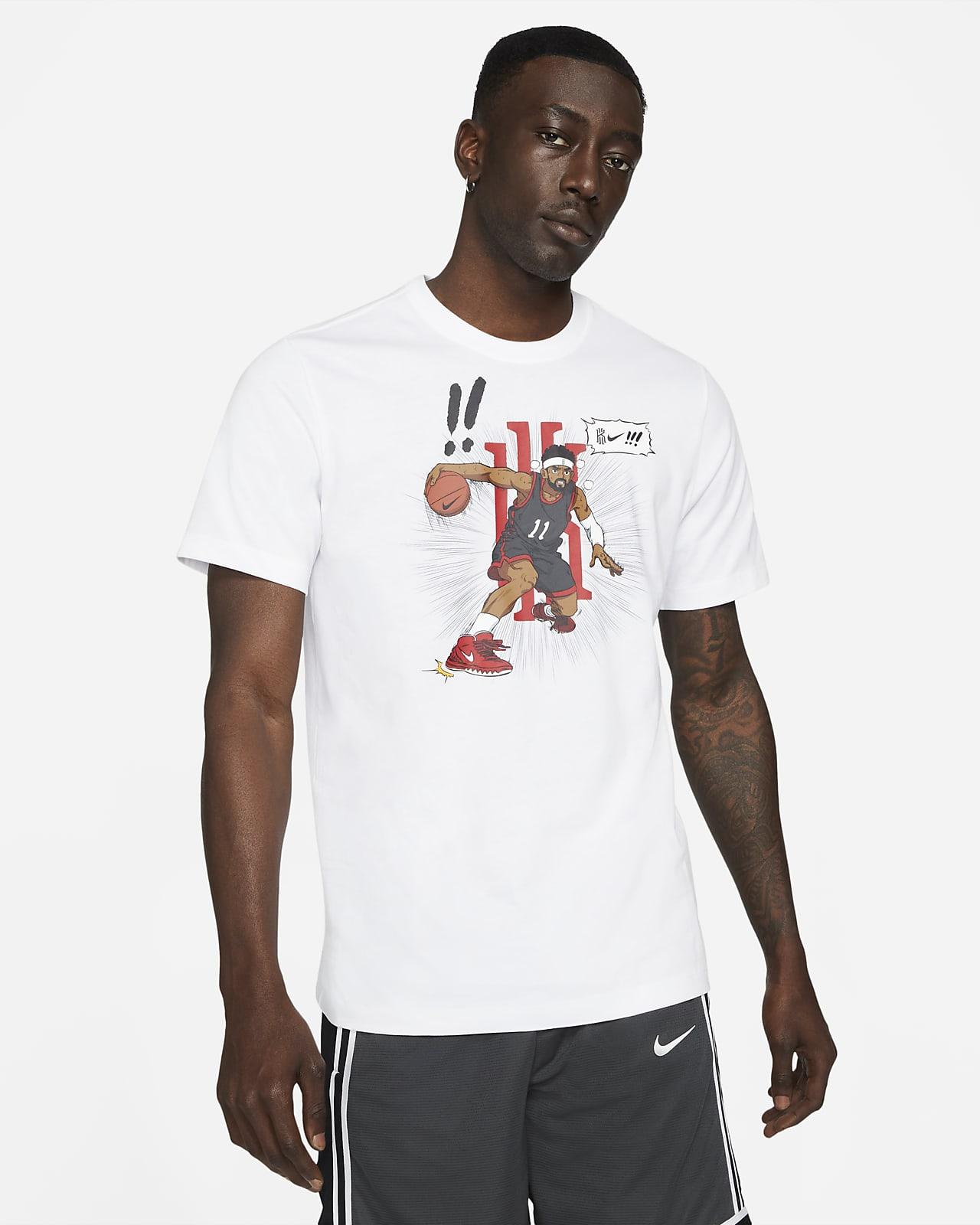 Playera de básquetbol para hombre Kyrie Logo