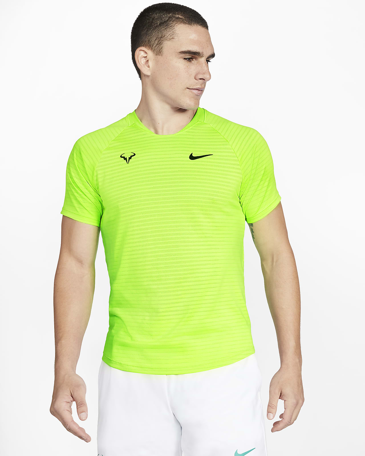 NikeCourt AeroReact Rafa Slam Men's Short-Sleeve Tennis Top