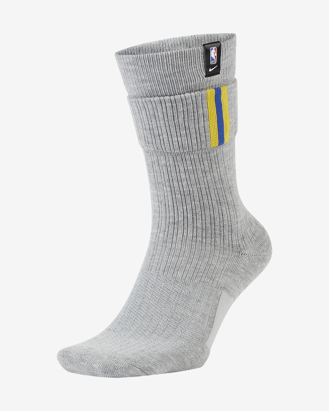 Golden State Warriors Courtside Nike NBA Crew Socks