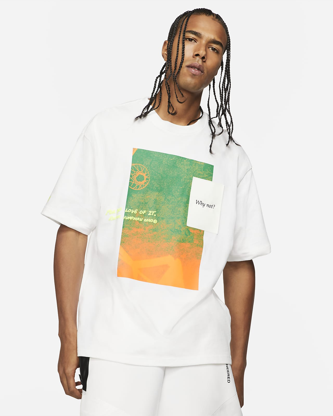 Мужская футболка с коротким рукавом Jordan Why Not?