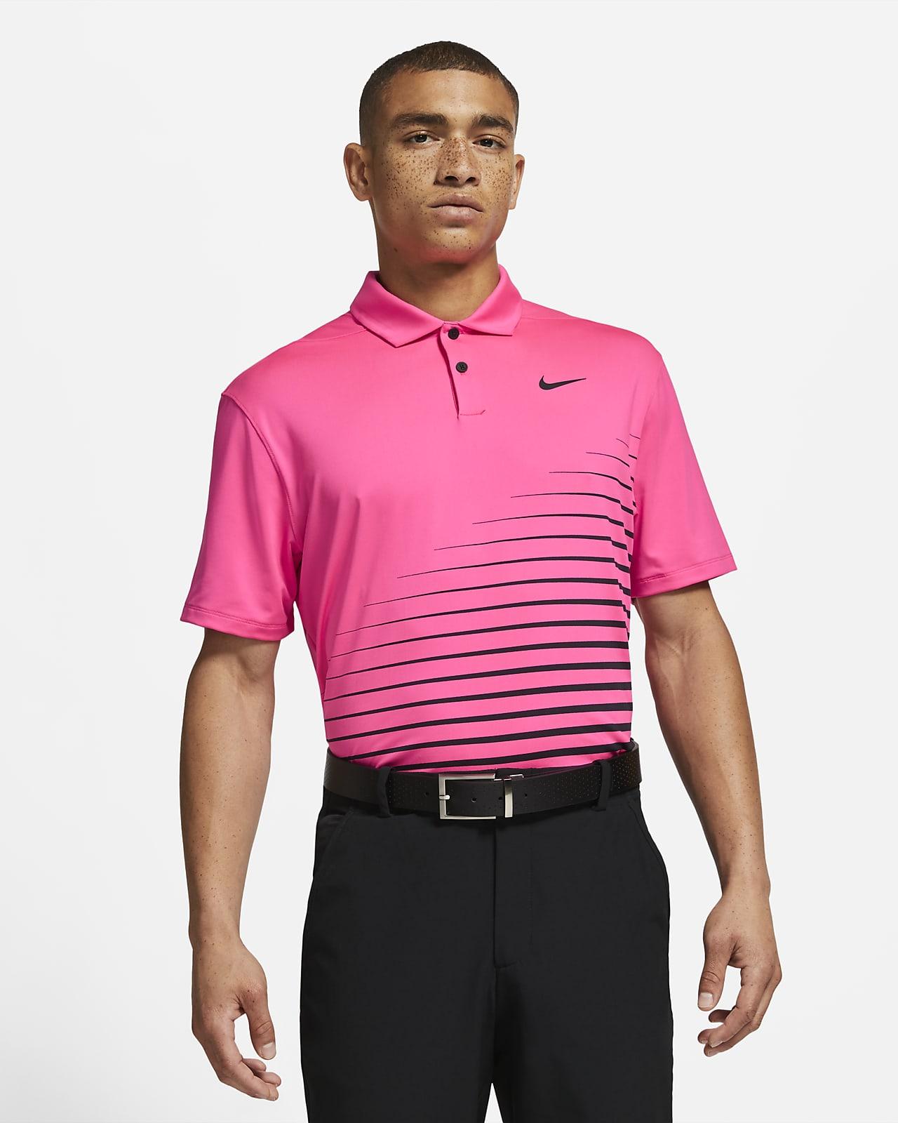 Polo de golfe com grafismo Nike Dri-FIT Vapor para homem