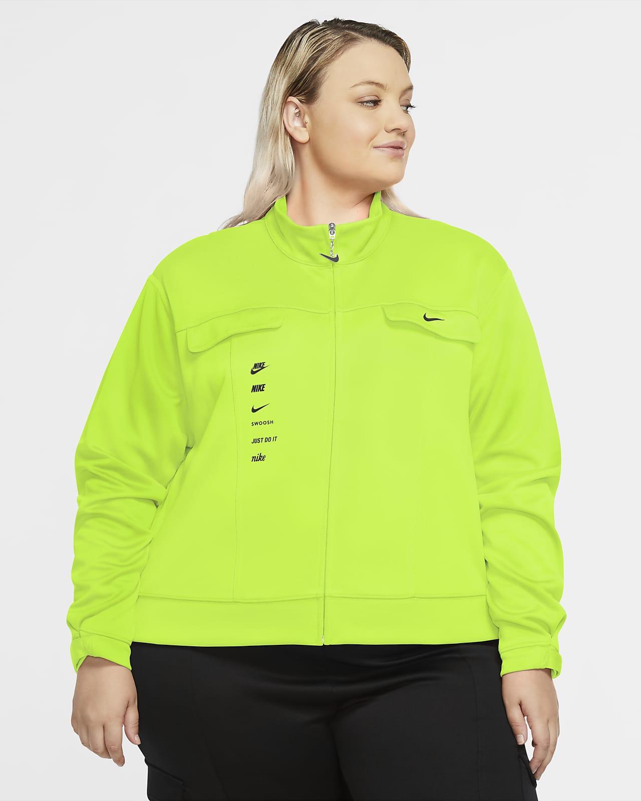Nike Sportswear Swoosh Women's Polyknit Jacket (Plus Size)