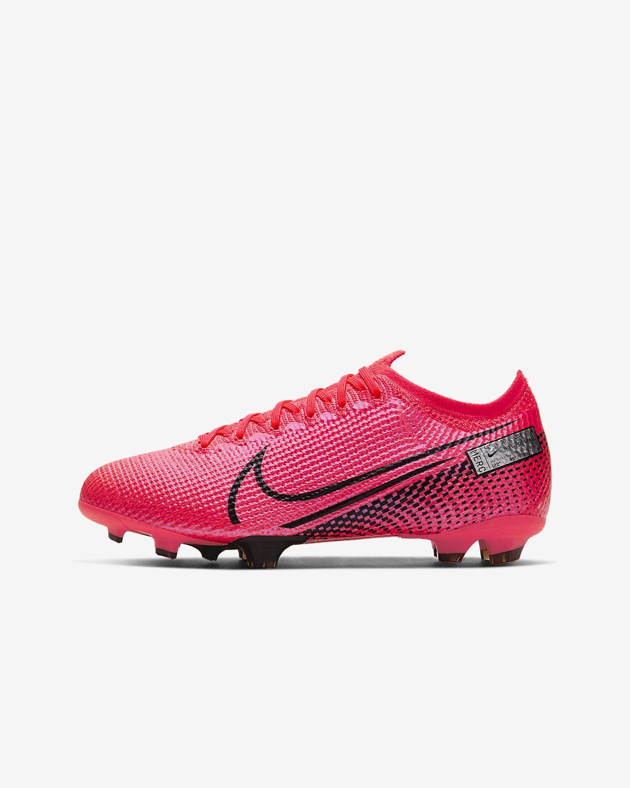 Ποδοσφαιρικό παπούτσι για σκληρές επιφάνειες Nike Jr. Mercurial Vapor 13 Elite FG για μεγάλα παιδιά