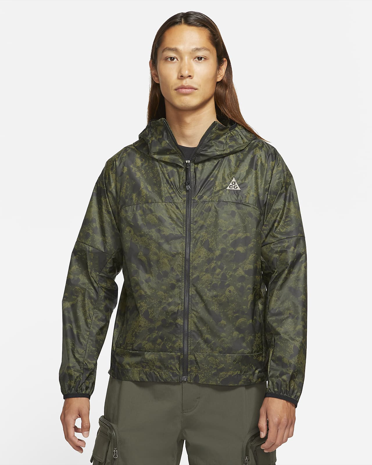 Nike ACG 'Cinder Cone' Men's All-Over Print Windproof Jacket