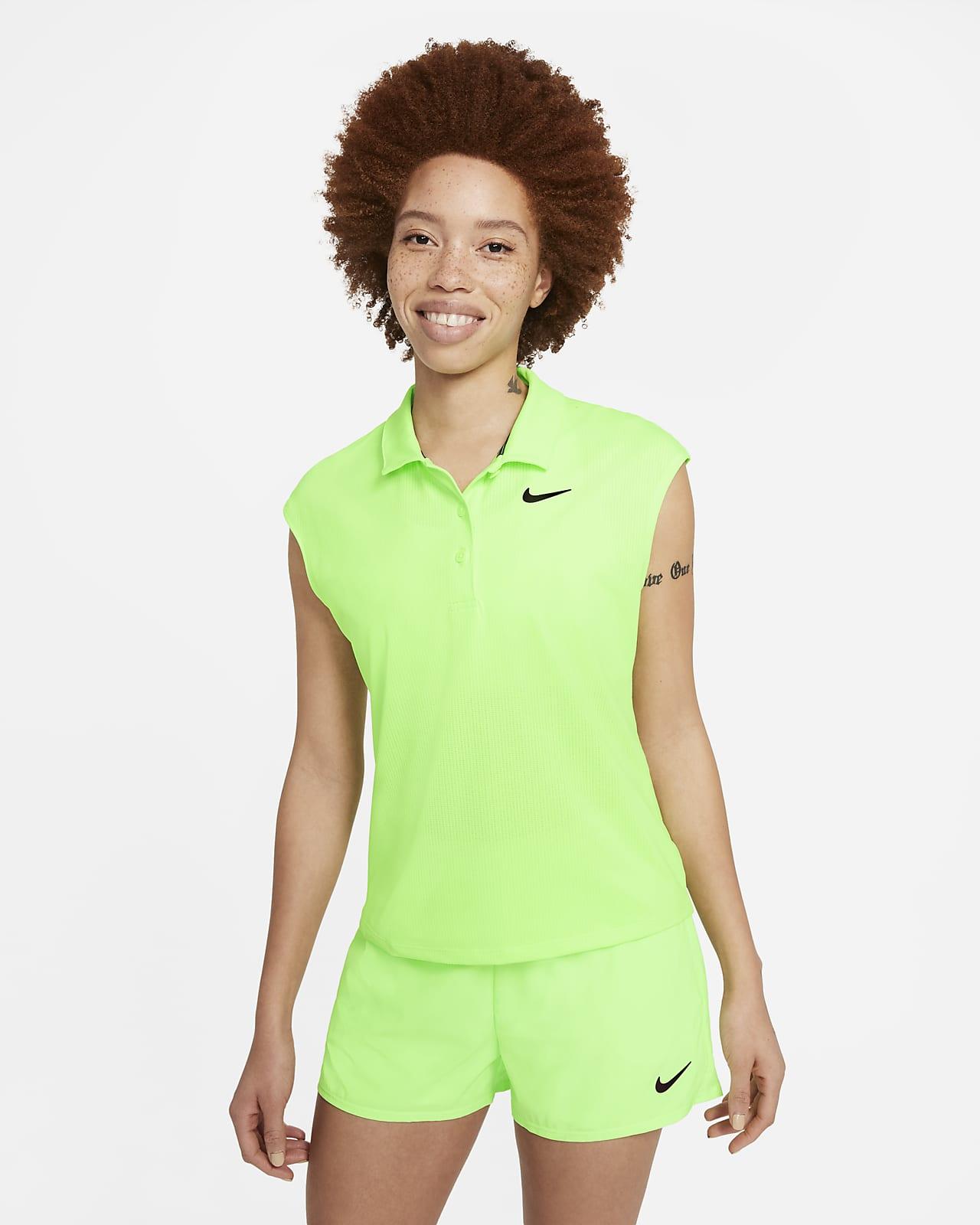 Polo de ténis NikeCourt Victory para mulher