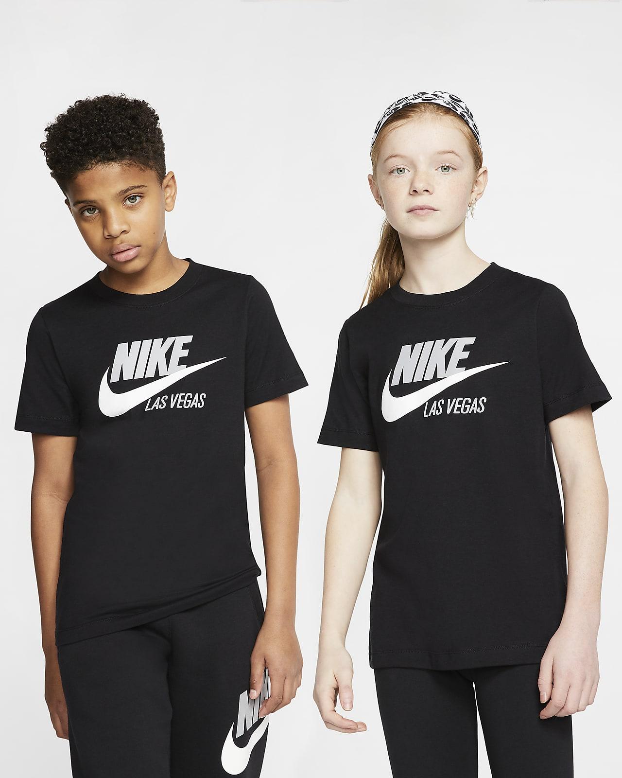 Playera para niños talla grande Nike Sportswear Las Vegas