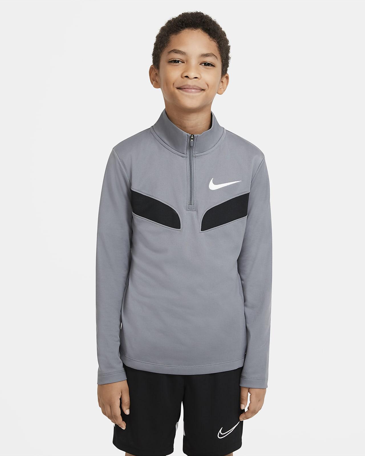 Nike Sport Langarm-Trainingsoberteil für ältere Kinder (Jungen)