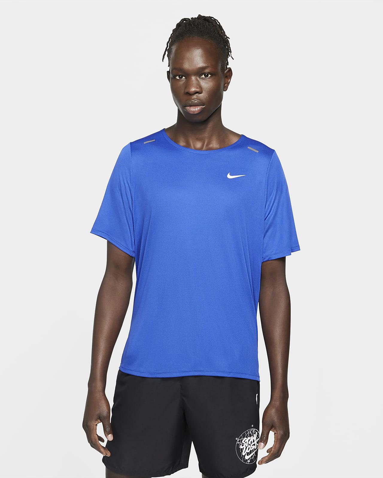 Haut à manches courtes Nike Rise 365 Wild Run pour Homme