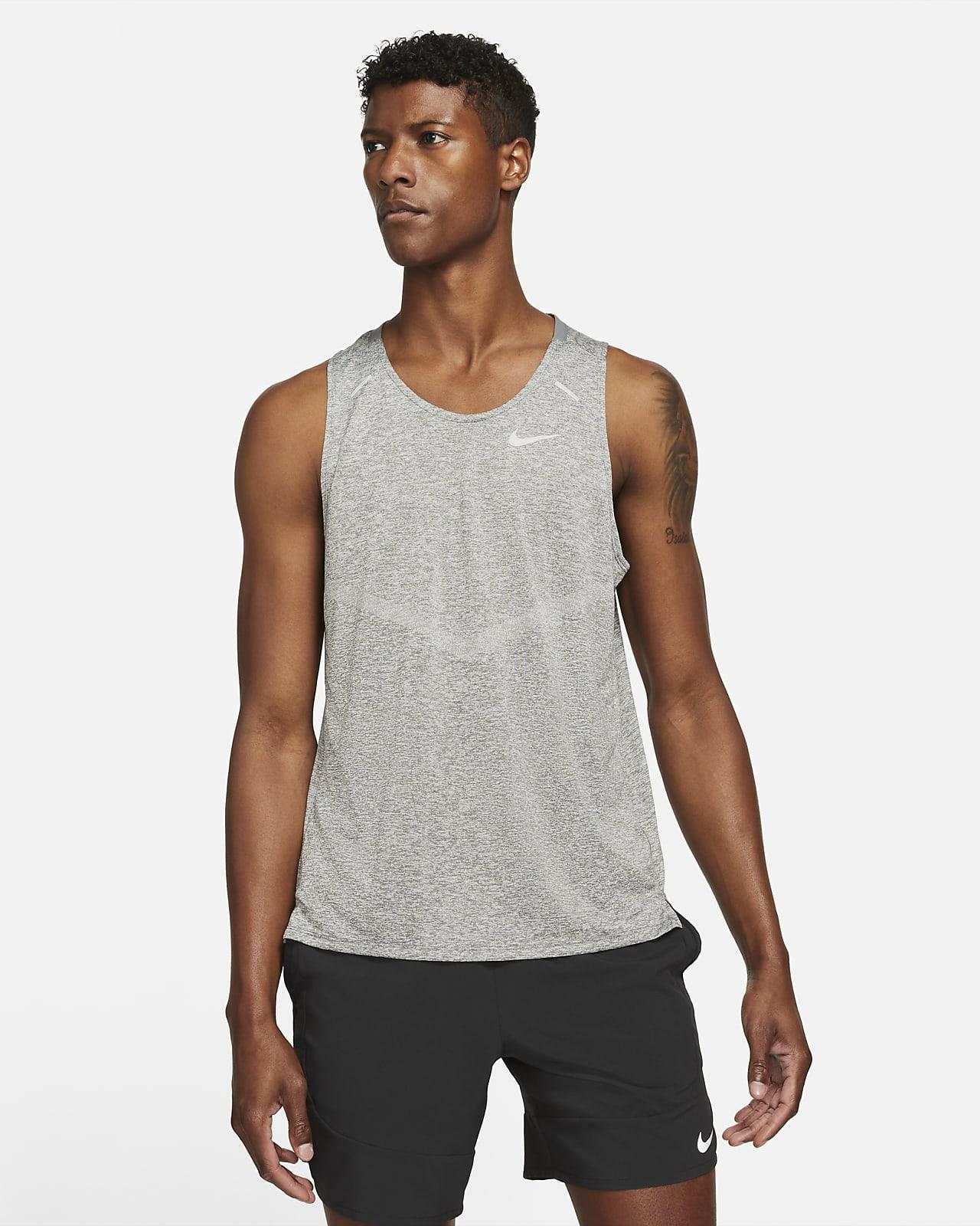 Camiseta de tirantes de running para hombre Nike Dri-FIT Rise 365