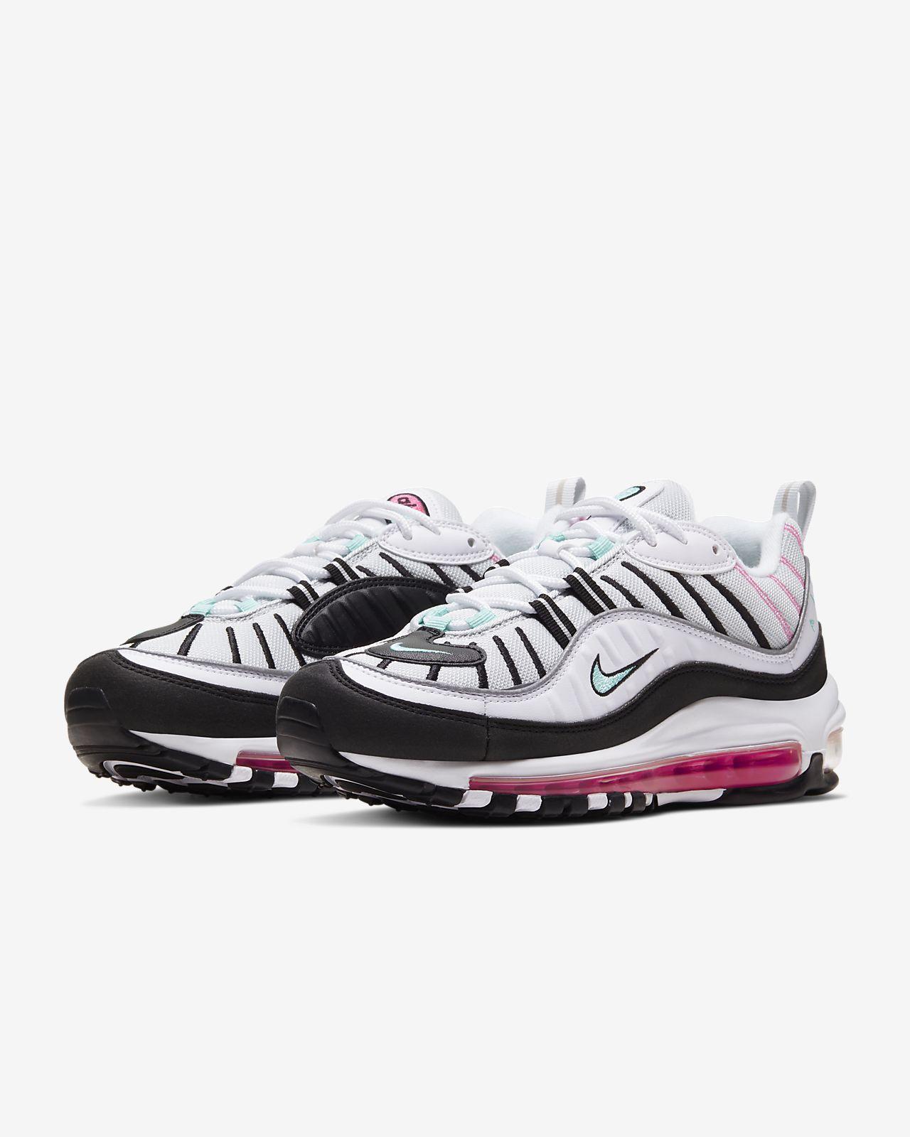 Nike WMNS Air Max 98 Trainers AH6799 103 | White