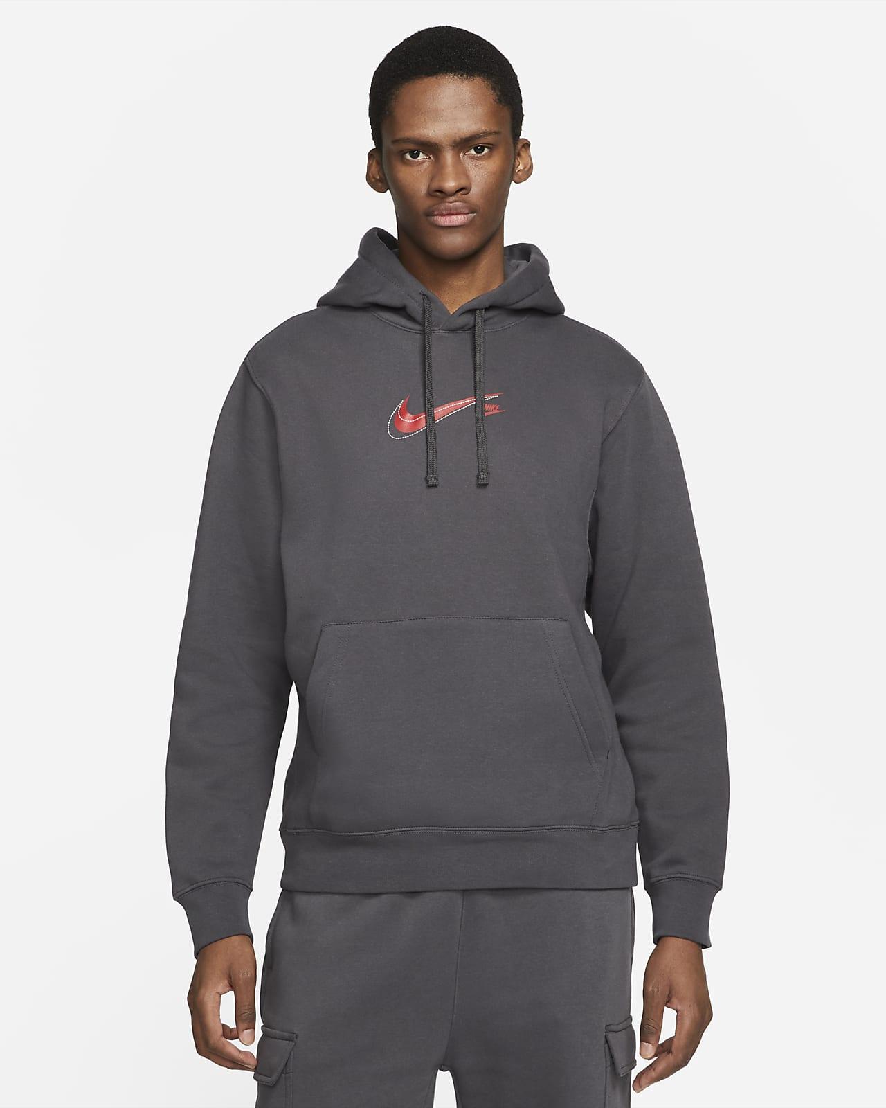 Nike Sportswear Court Fleece-Hoodie für Herren