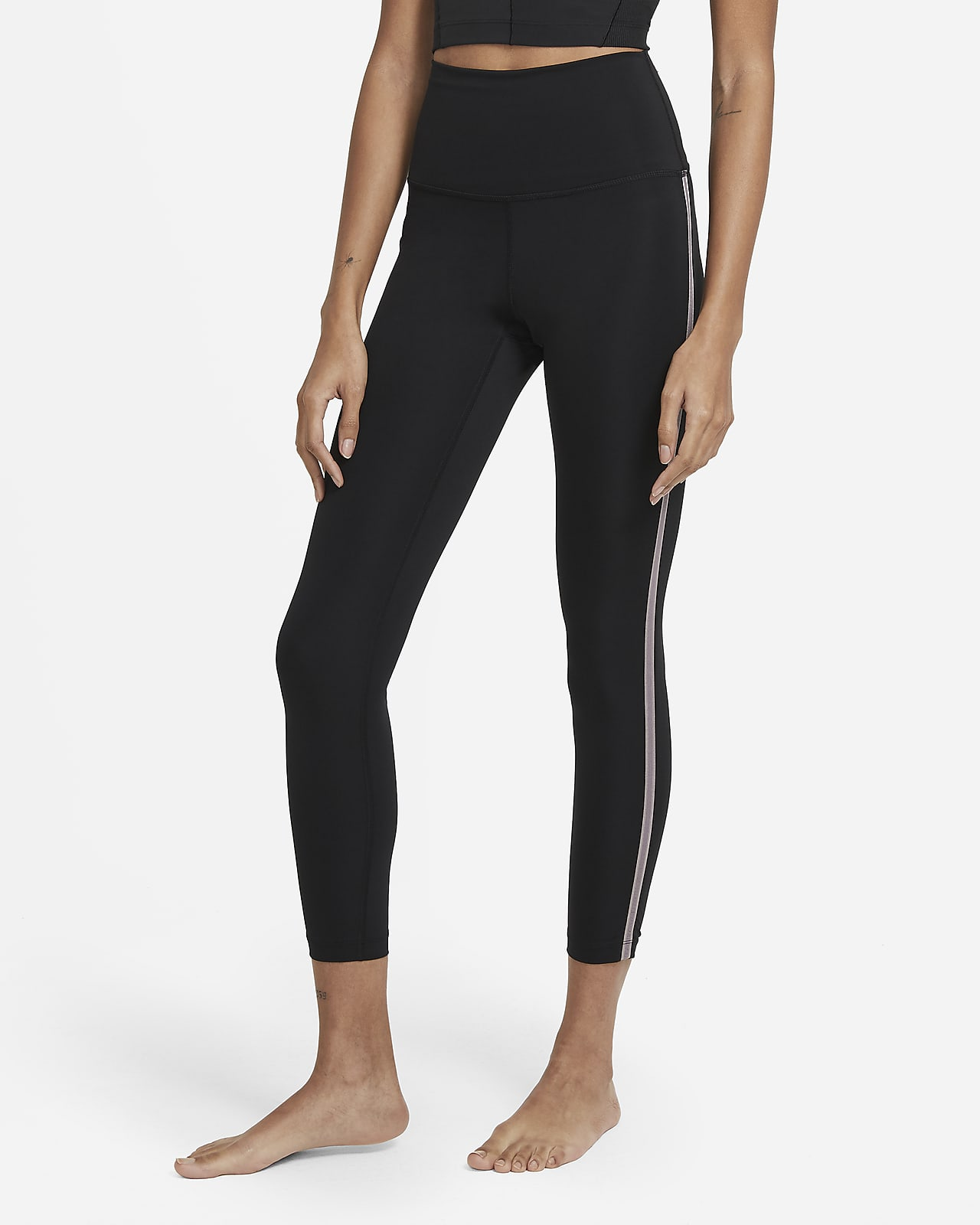 Nike Yoga Women's High-Waisted 7/8 Novelty Leggings