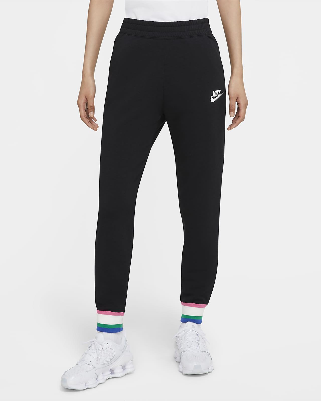Γυναικείο φλις παντελόνι φόρμας Nike Sportswear Heritage