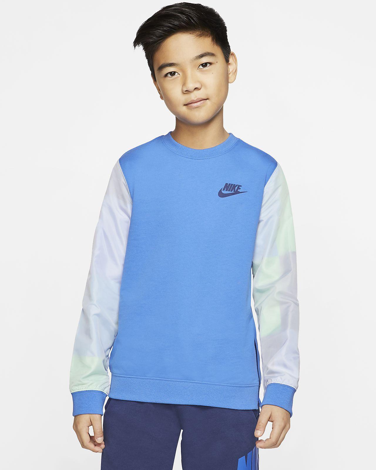 Nike Sportswear Older Kids' (Boys') Crew