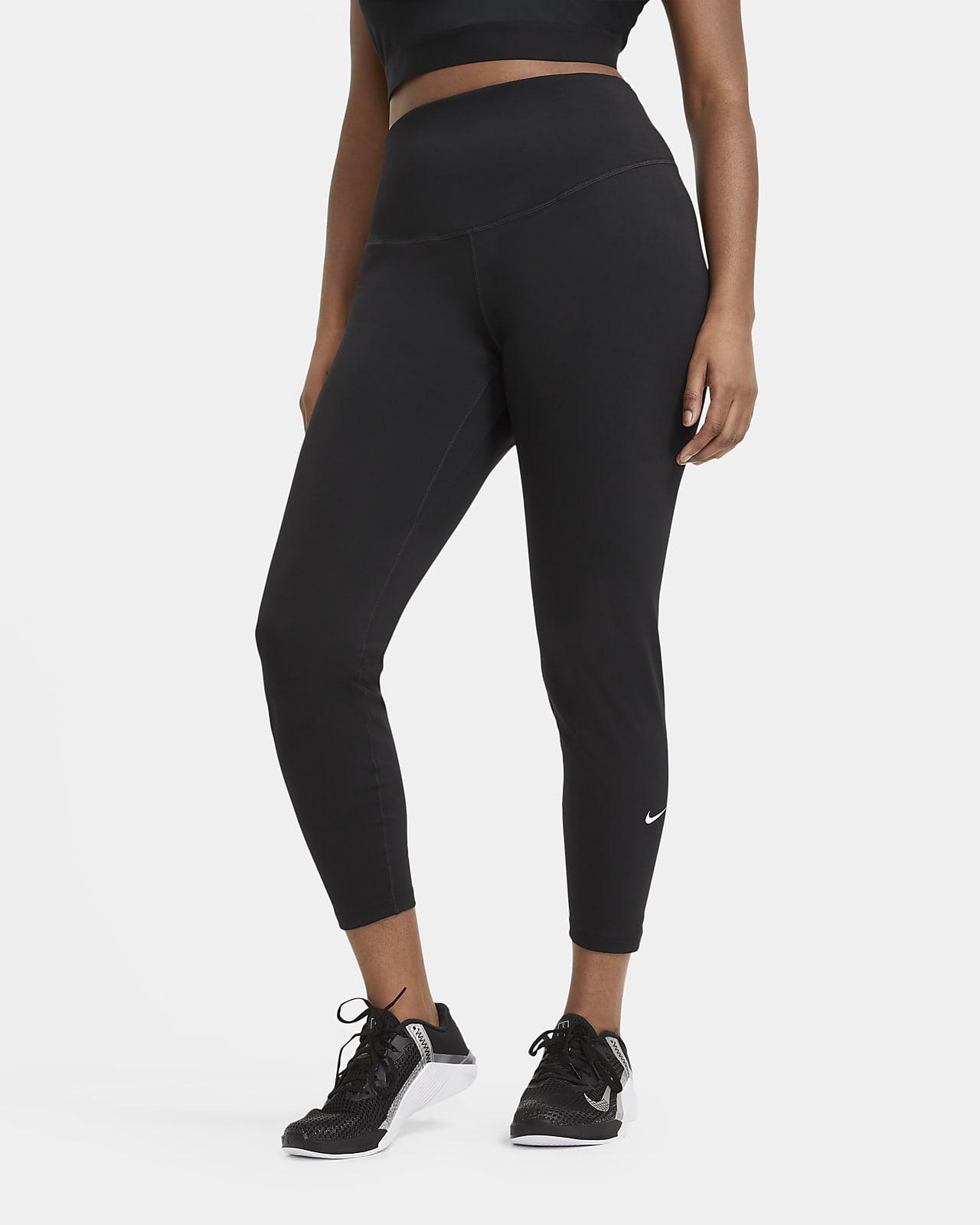 Nike One-leggings med mellemhøj talje til kvinder (plus size)