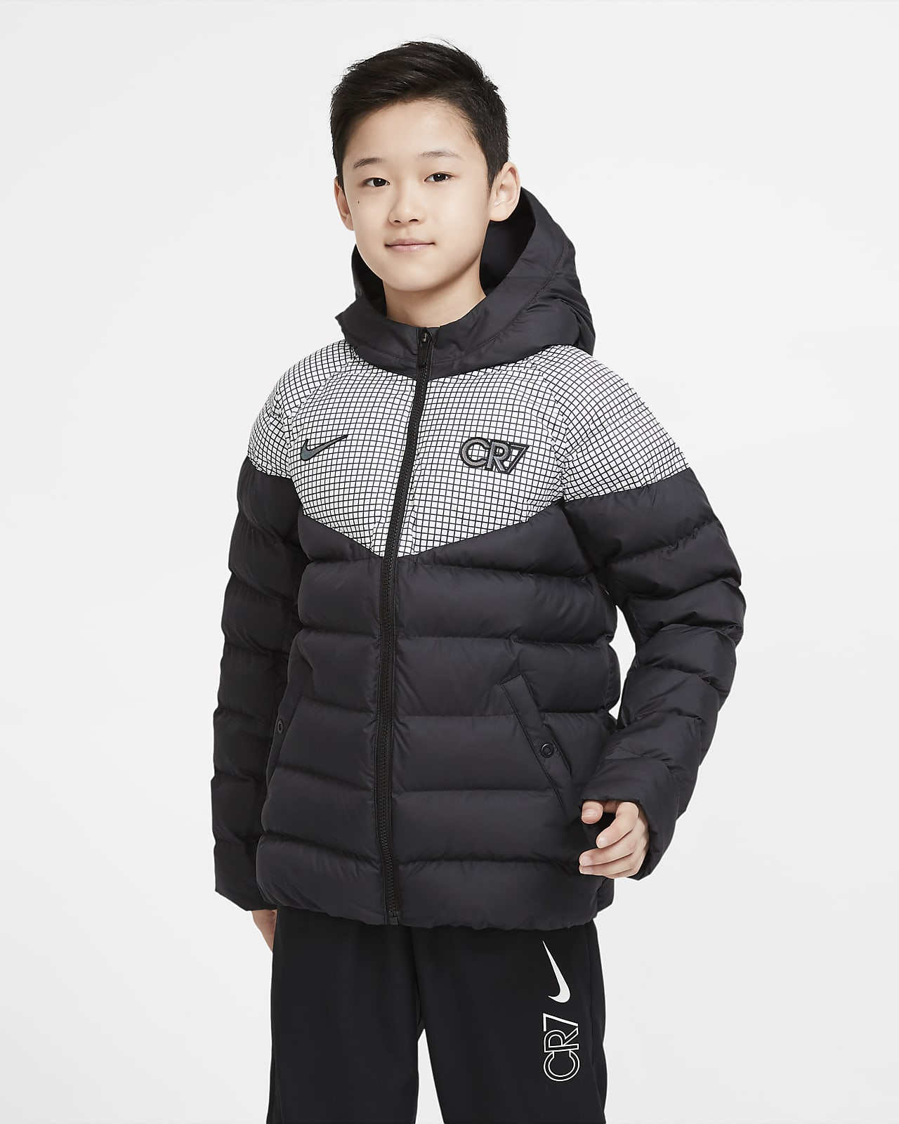 CR7 Older Kids' Padded Football Jacket
