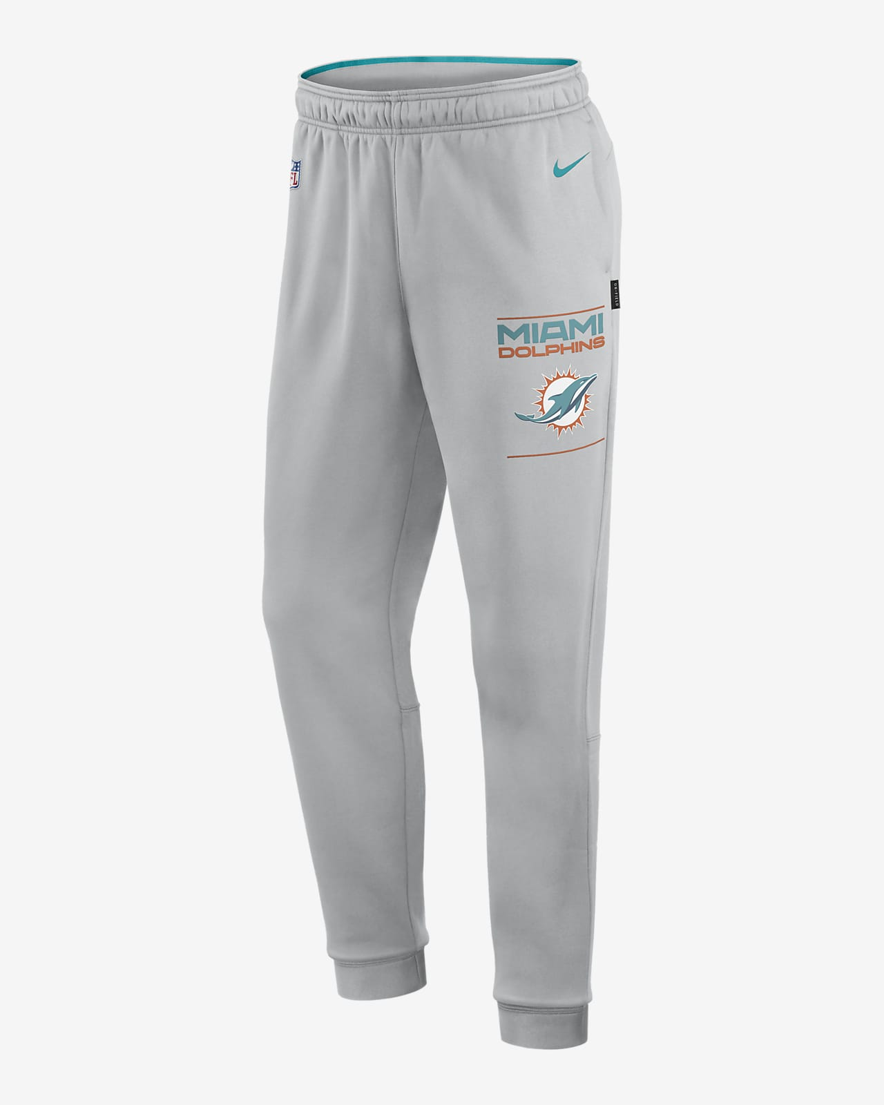 Pants para hombre Nike Therma Sideline (NFL Miami Dolphins)