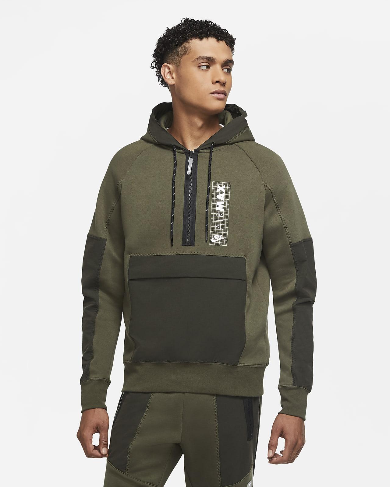 Haut en tissu Fleece à demi-zip Nike Air Max pour Homme