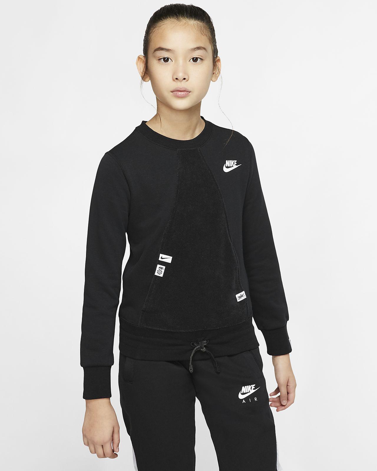 Camisola de manga comprida Nike Sportswear Heritage Júnior (Rapariga)
