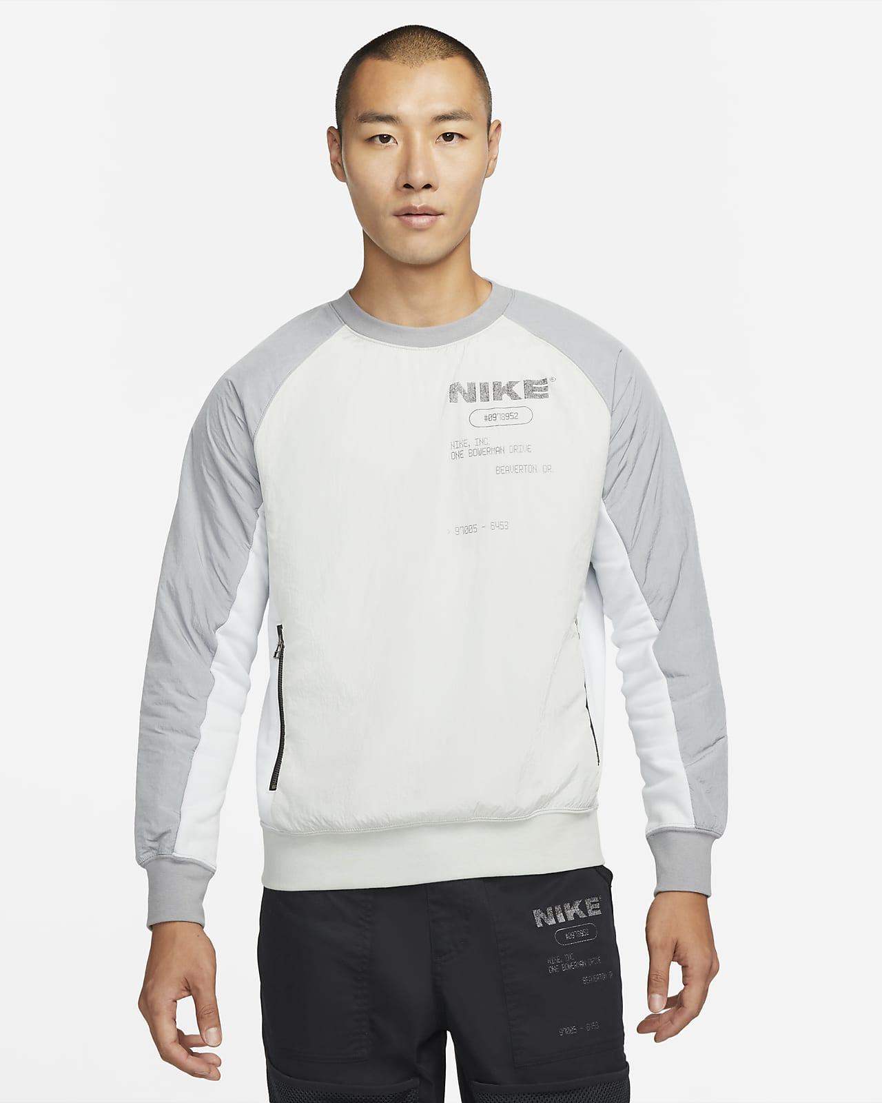 ナイキ スポーツウェア シティ メイド メンズ フレンチ テリー プルオーバー スウェットシャツ
