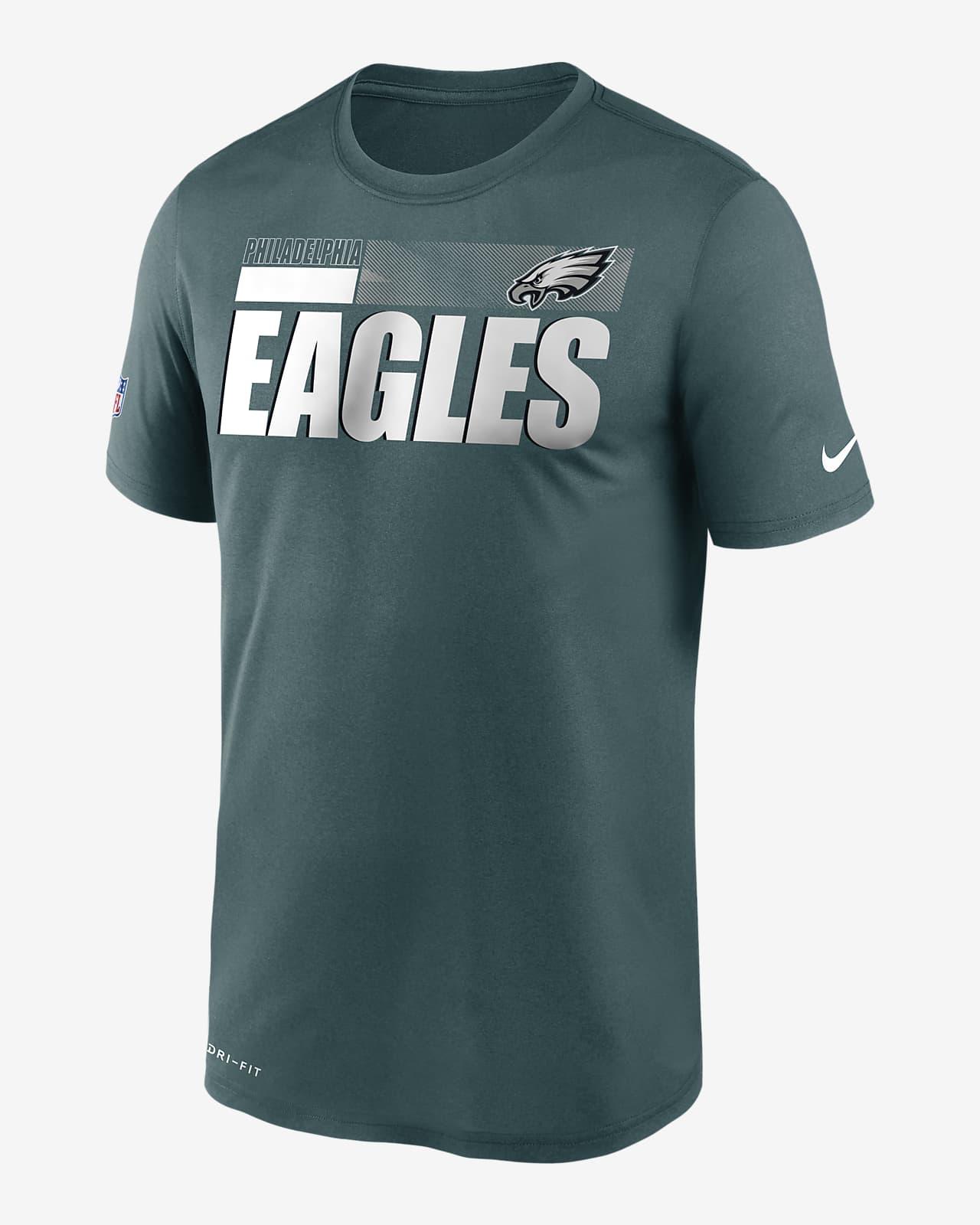Tee-shirt Nike Dri-FIT Team Name Legend Sideline (NFL Philadelphia Eagles) pour Homme