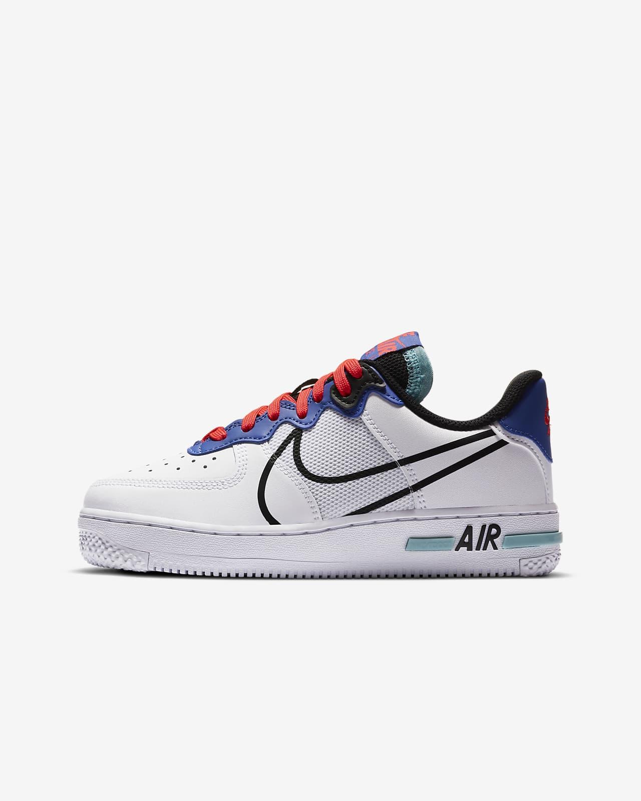 Nike Air Force 1 React Kinderschoen