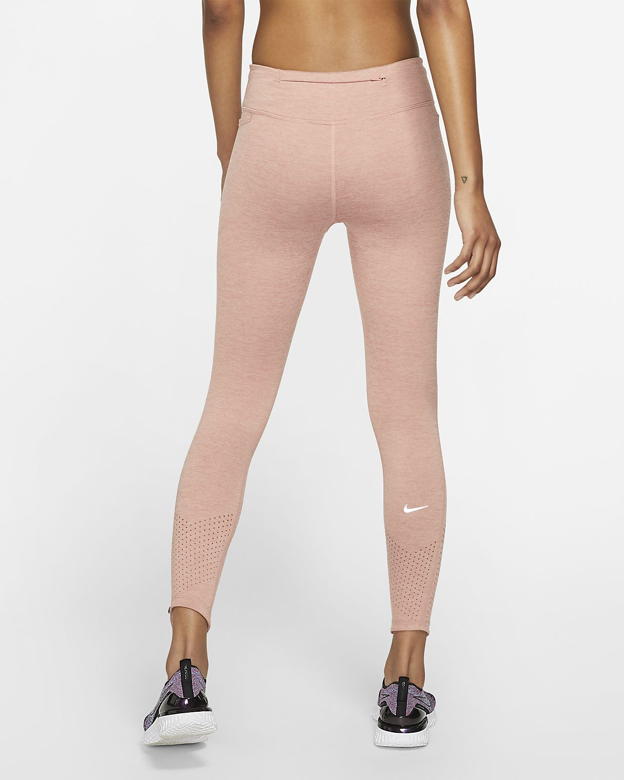 nike leggings schwarz rosa