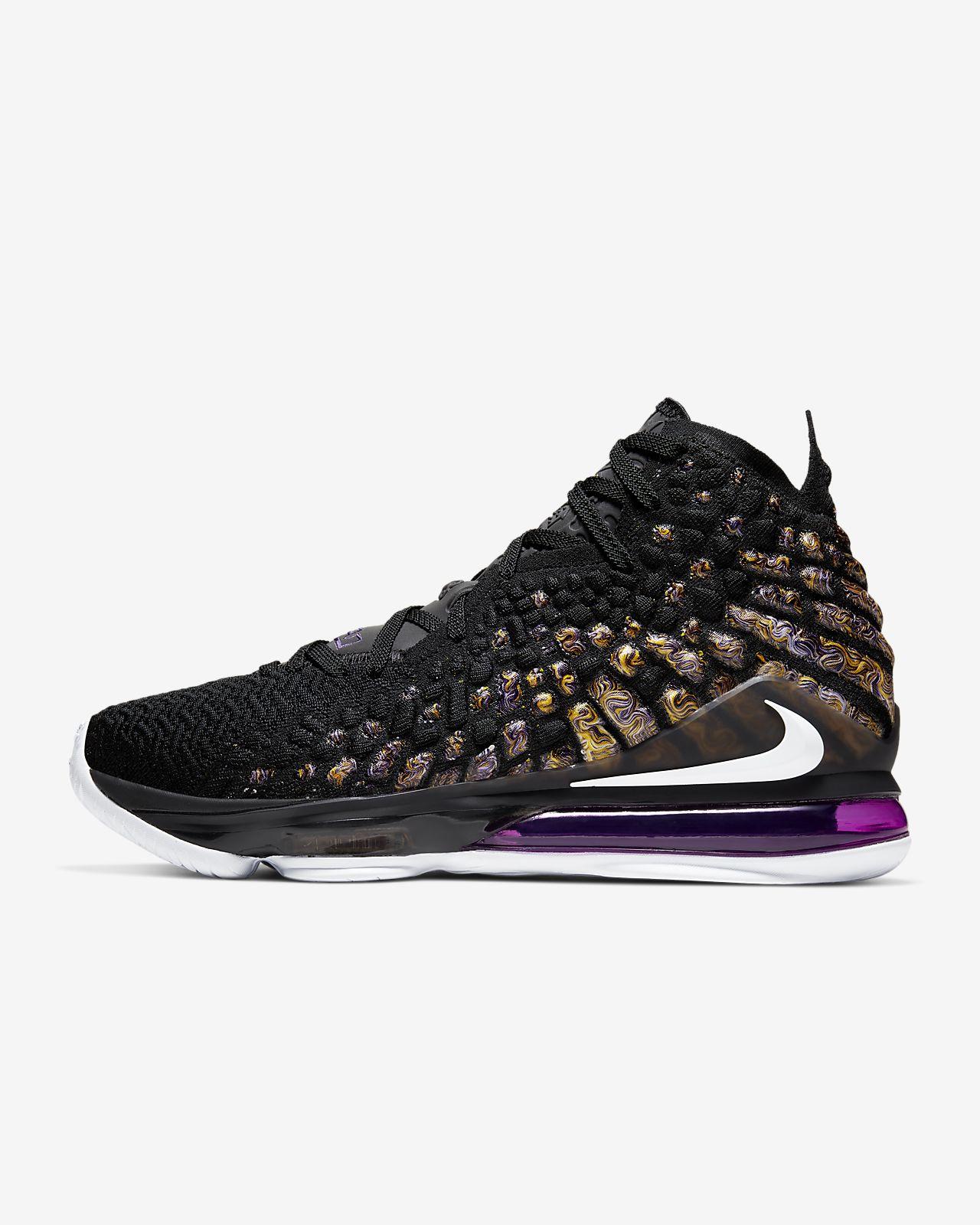 LeBron 17 Basketball Shoe. Nike SG