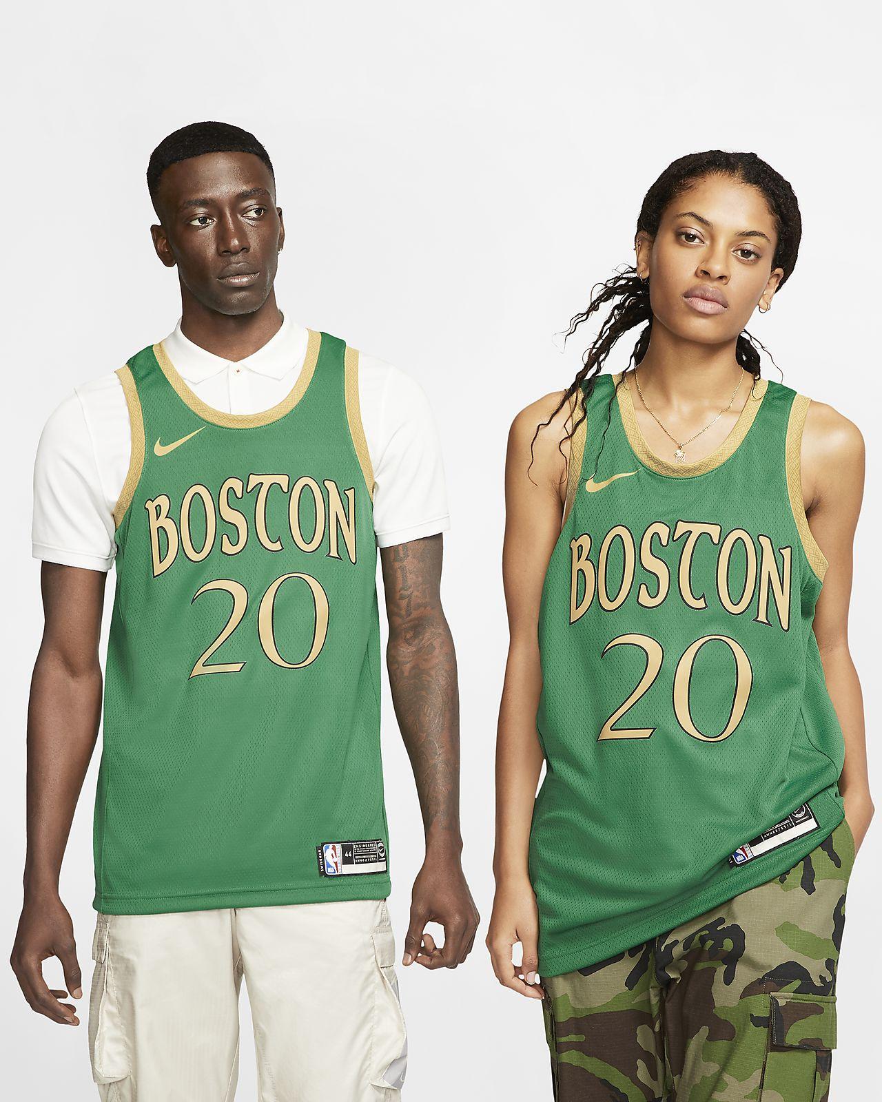 Maillot Nike NBA Swingman Gordon Hayward Celtics - City Edition