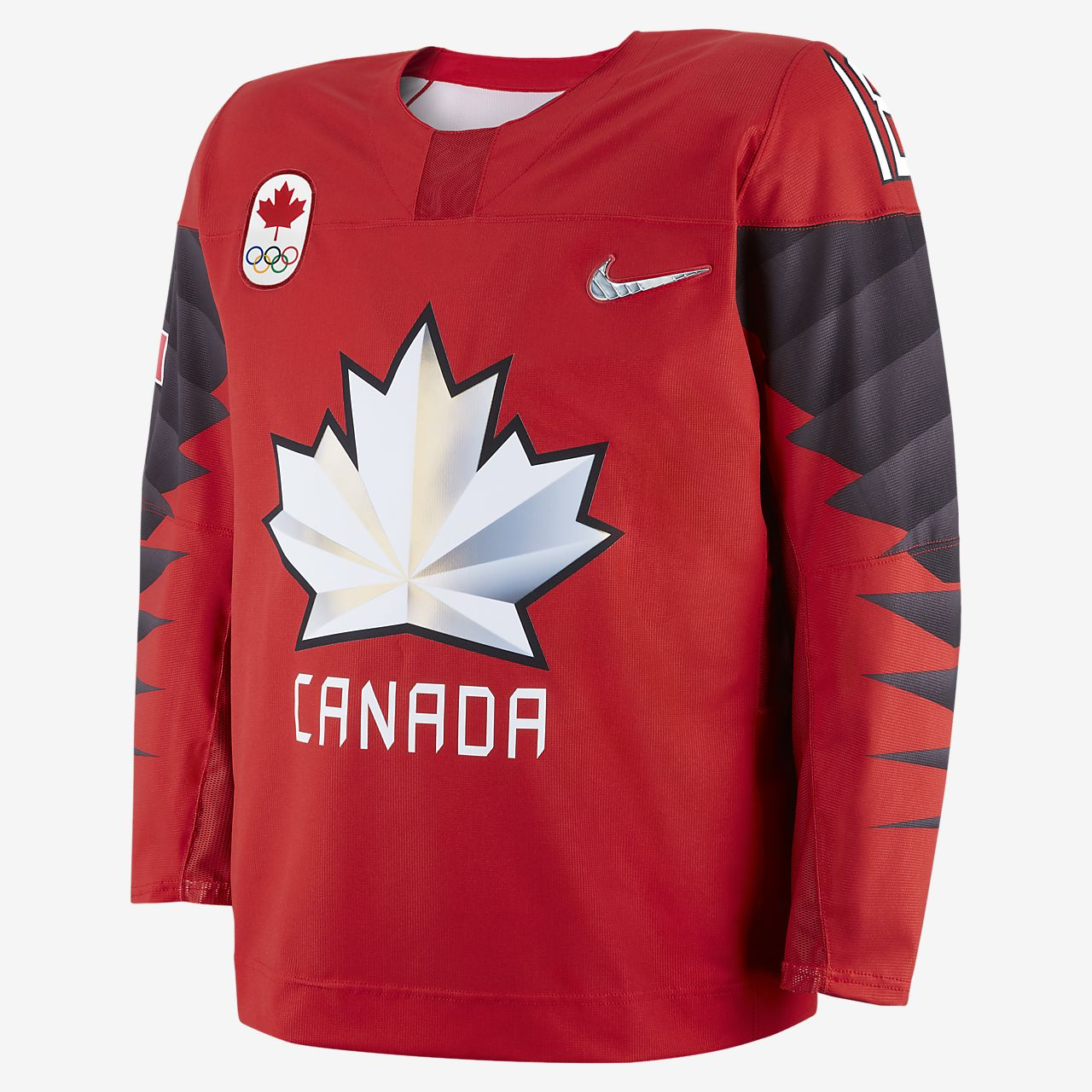 Camiseta de hockey para hombre Nike Team Canada Replica