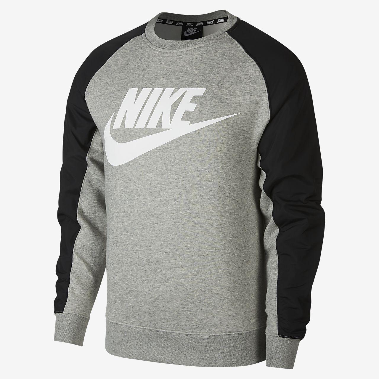 Nike Sportswear 男子印花圆领上衣