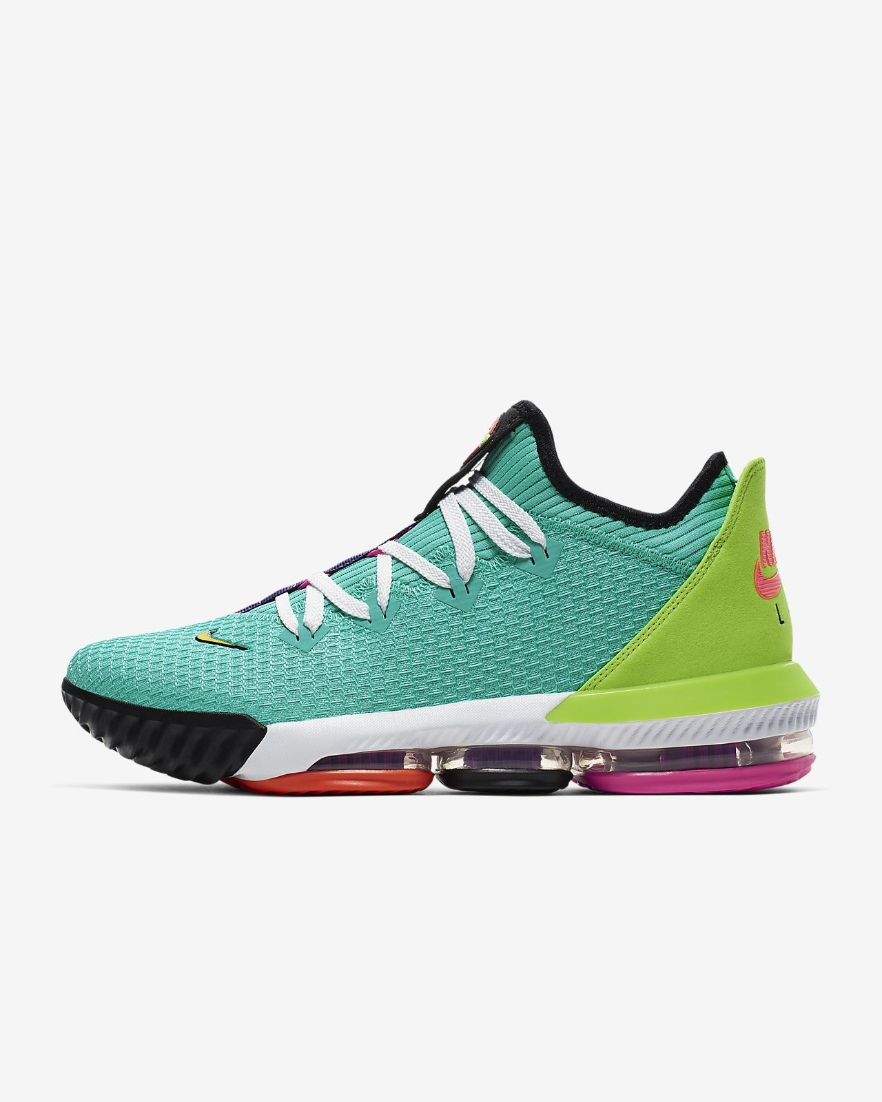 LeBron 16 Low Basketball Shoe. Nike ID