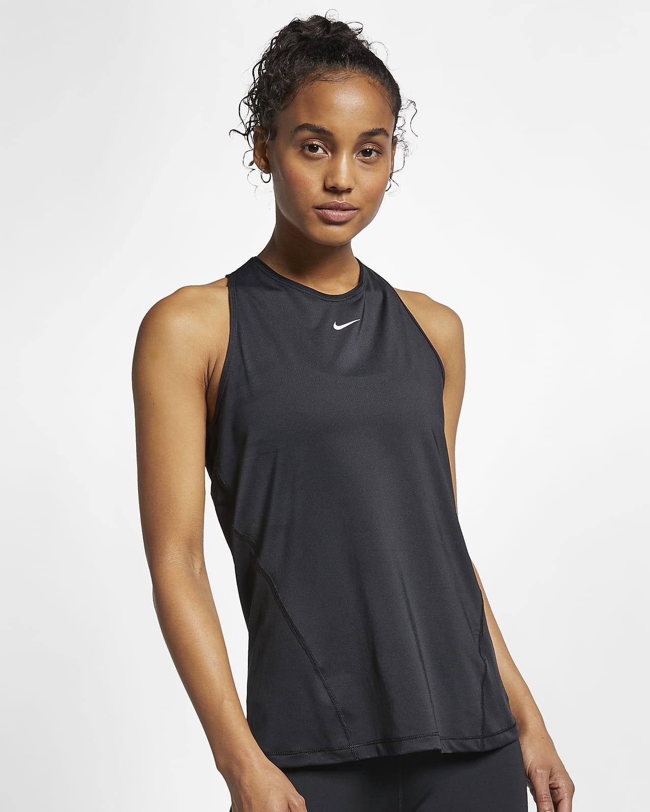 Nike Pro Camiseta de tirantes de malla - Mujer