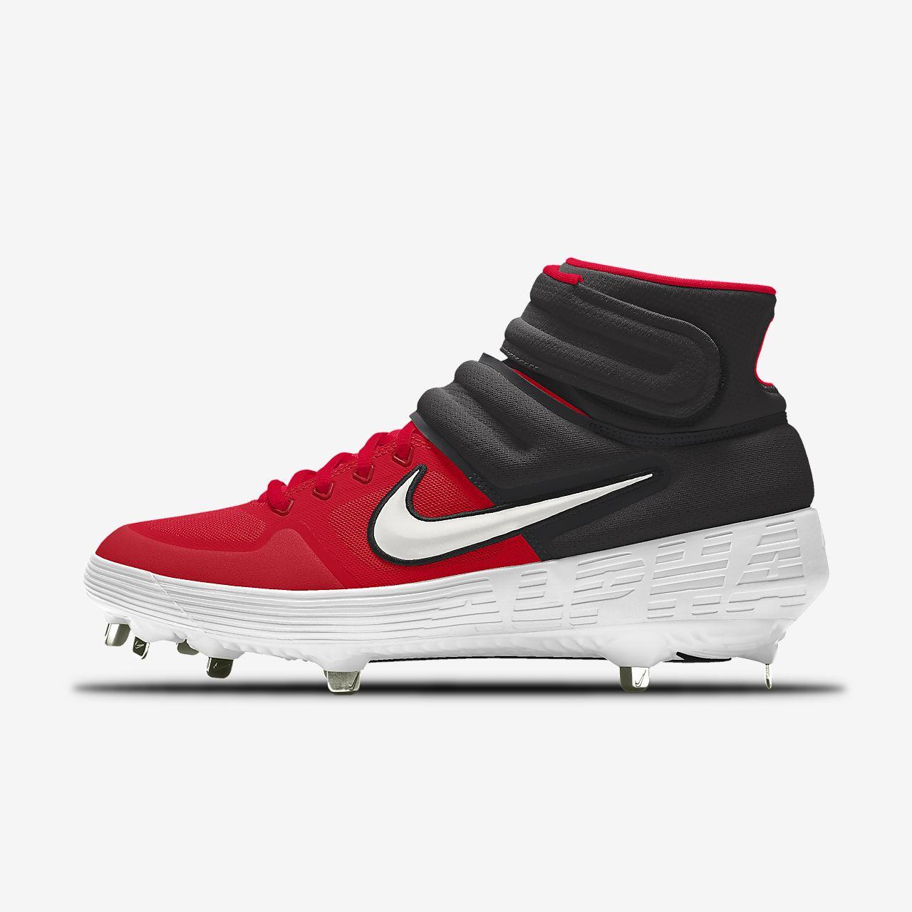 Nike Alpha Huarache Elite 2 Mid By You Custom Baseball Boot