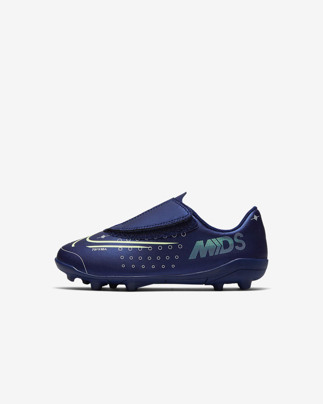 Nike Jr. Mercurial Vapor 13 Club MDS MG Fußballschuh für verschiedene Böden für jüngere Kinder