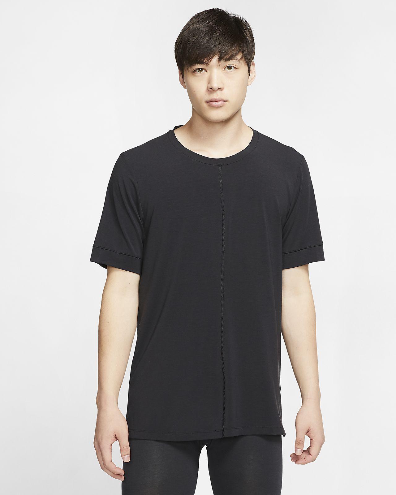 Męska koszulka z krótkim rękawem Nike Yoga Dri-FIT
