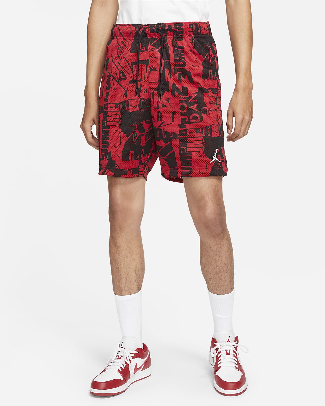 Shorts de malla estampados para hombre Jordan Essentials