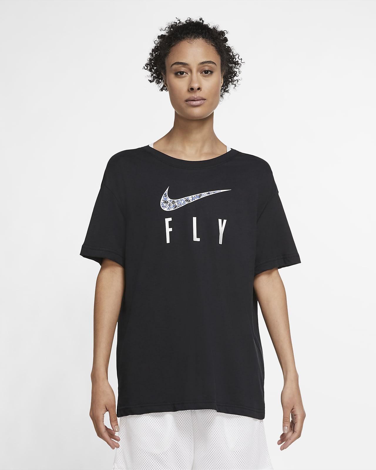 Nike Dri-FIT Swoosh Fly 女子篮球T恤