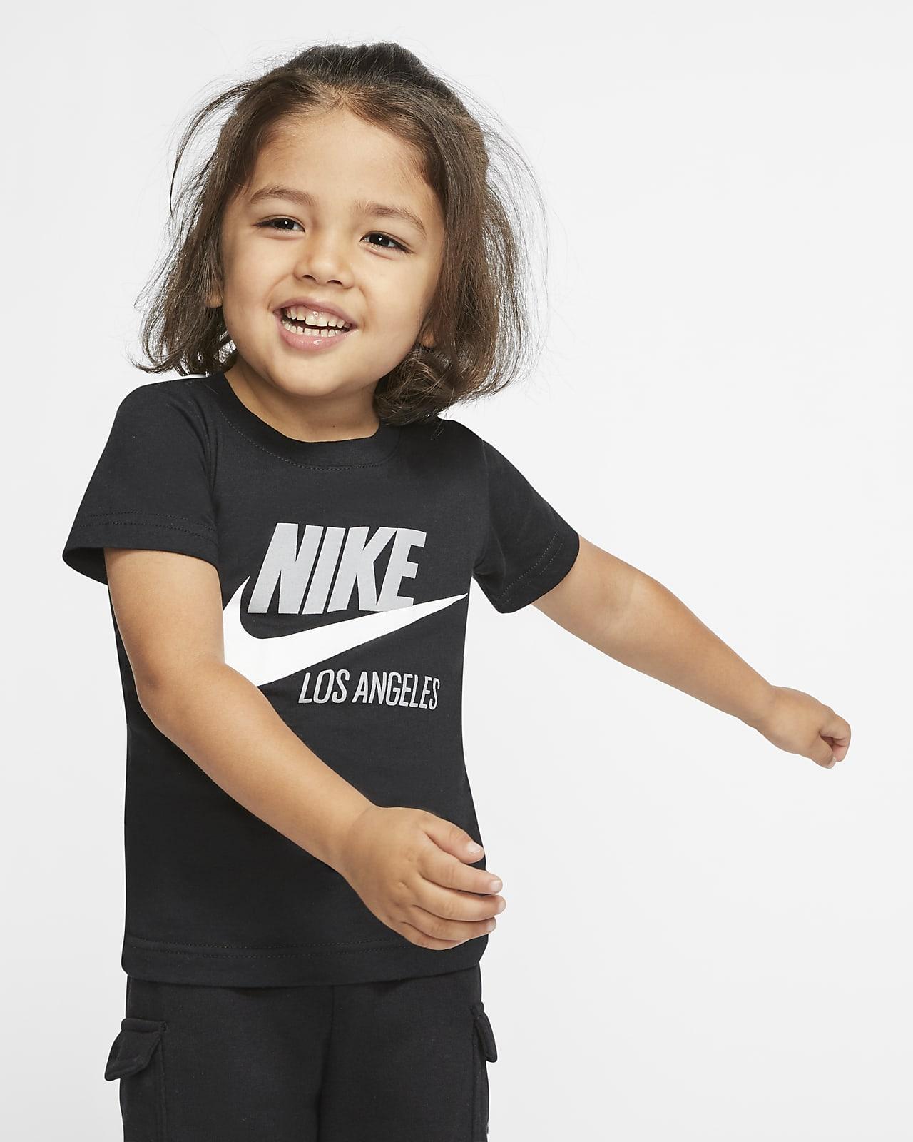 Playera de manga corta infantil Nike Sportswear Los Angeles