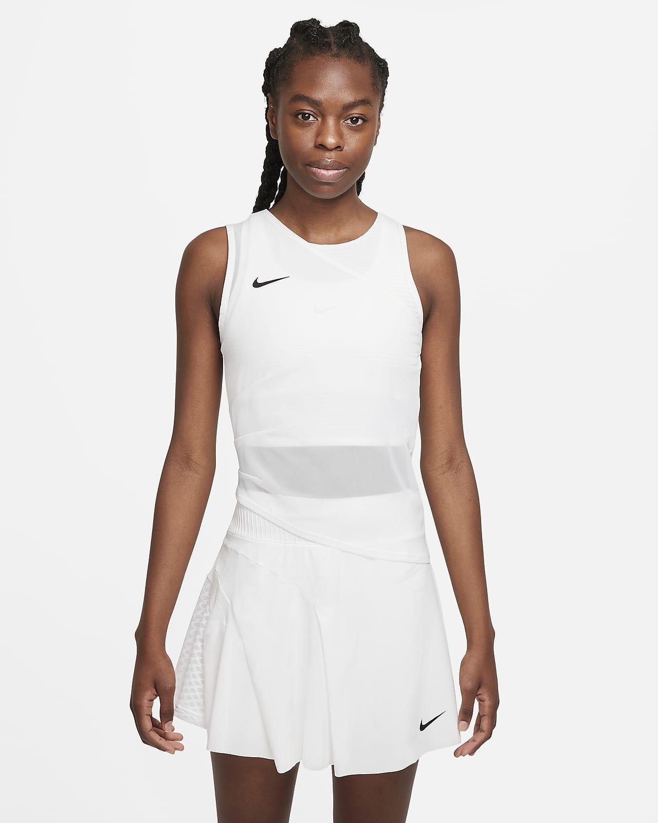 Camiseta de tirantes de tenis NikeCourt Dri-FIT ADV Slam para mujer