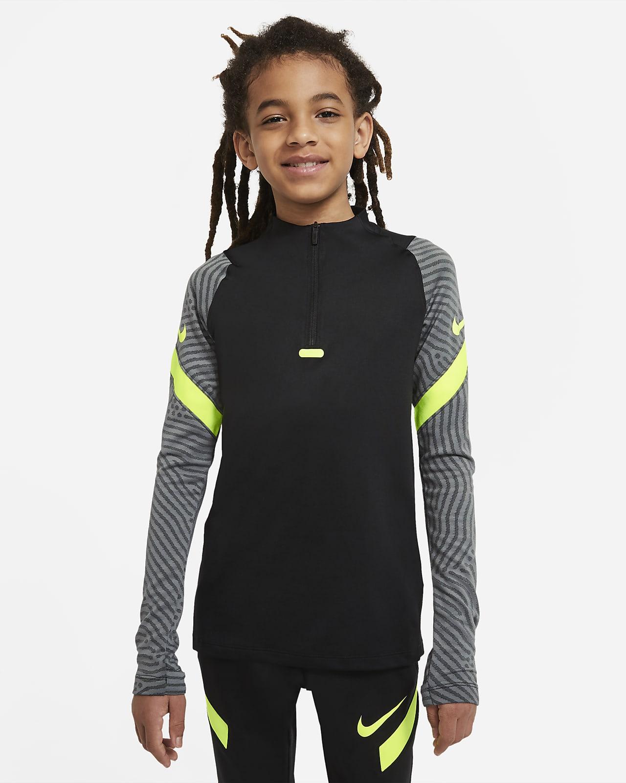Treningowa koszulka piłkarska dla dużych dzieci Nike Dri-FIT Strike