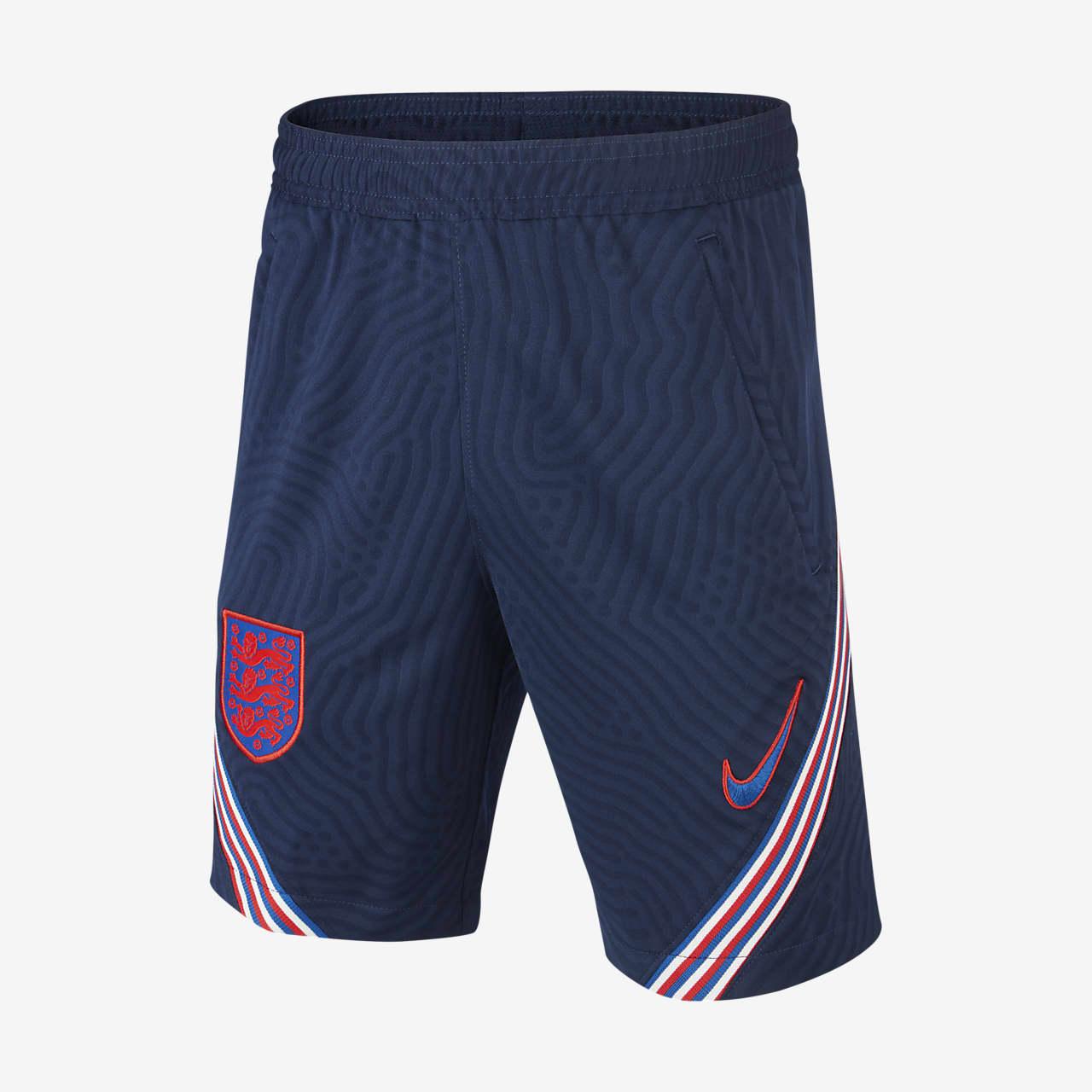 England Strike Older Kids' Jacquard Football Shorts
