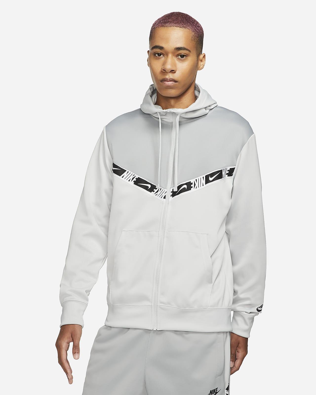 Huvtröja med hel dragkedja Nike Sportswear för män