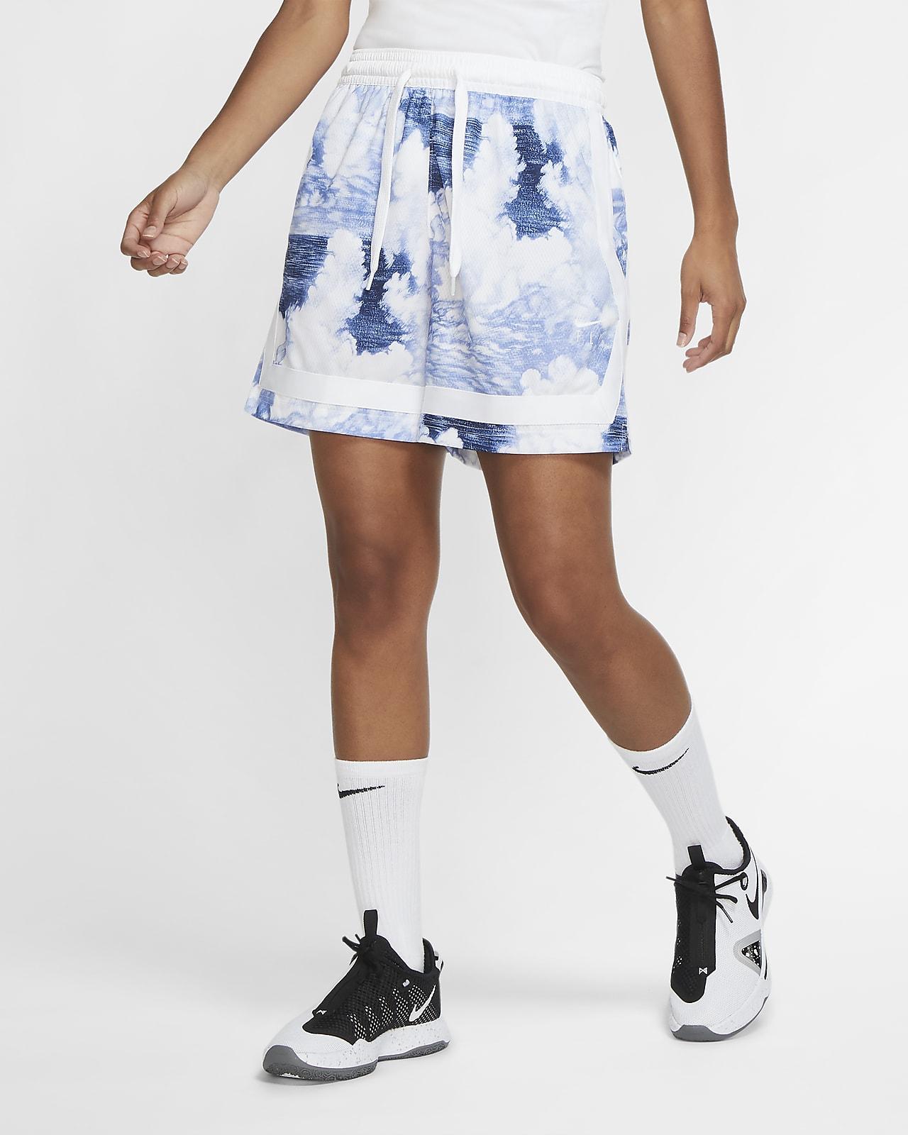 Short de basketball imprimé Nike Swoosh Fly pour Femme