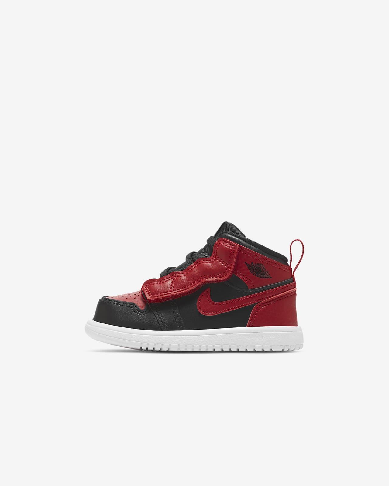 Jordan 1 Mid Schuh für Babys und Kleinkinder