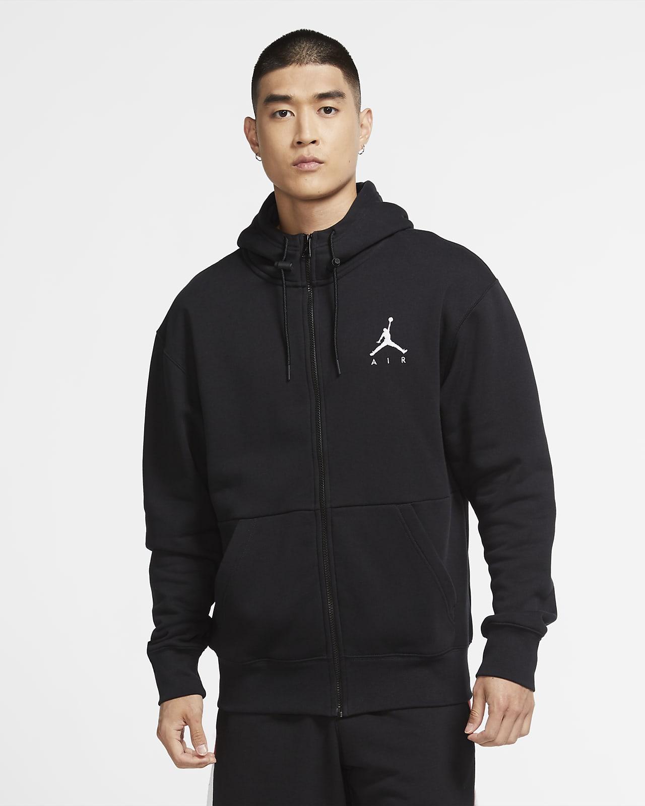 Jordan Jumpman Air Fleece-Hoodie mit durchgehendem Reißverschluss für Herren