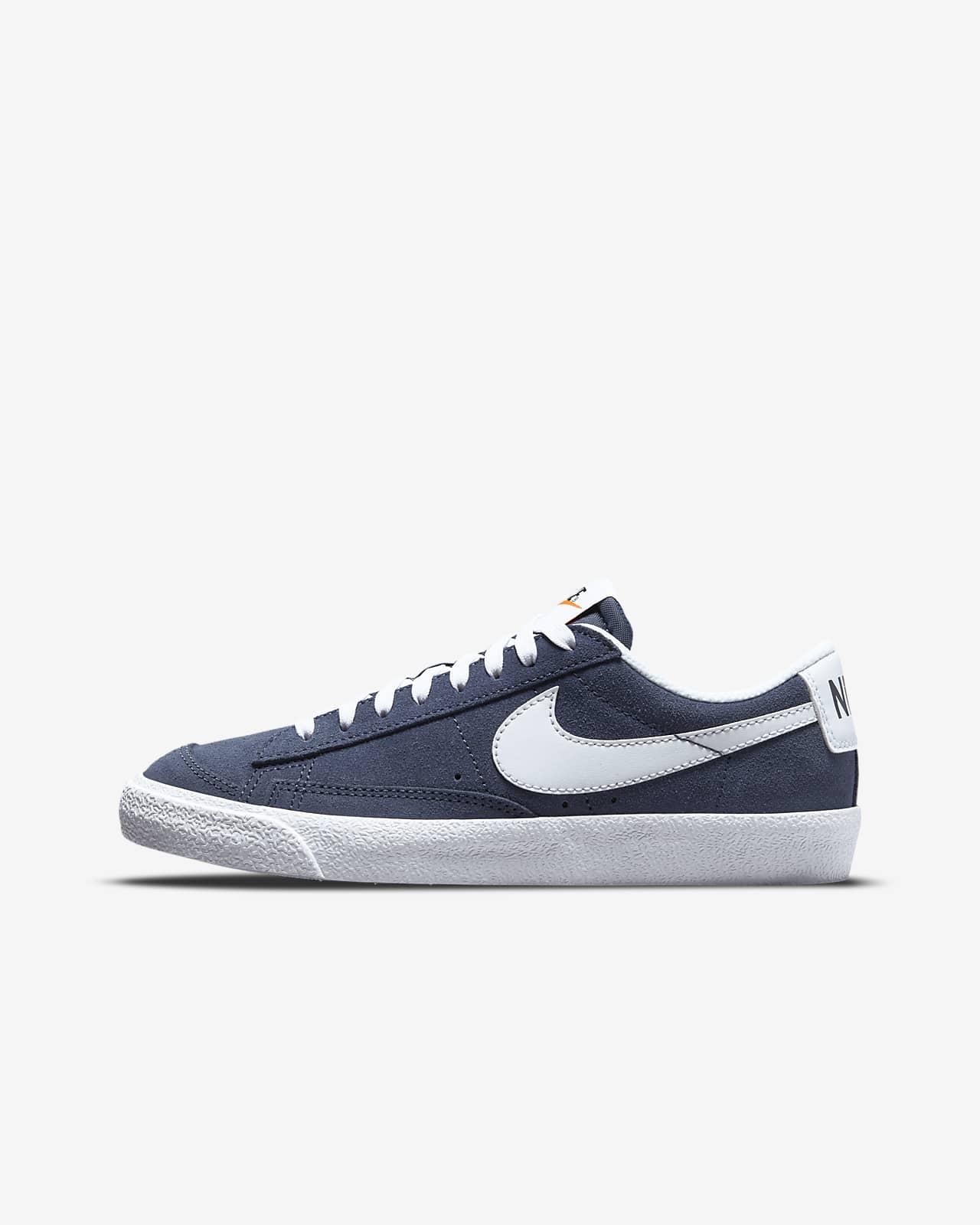 Nike Blazer Low '77 Suede Big Kids' Shoes