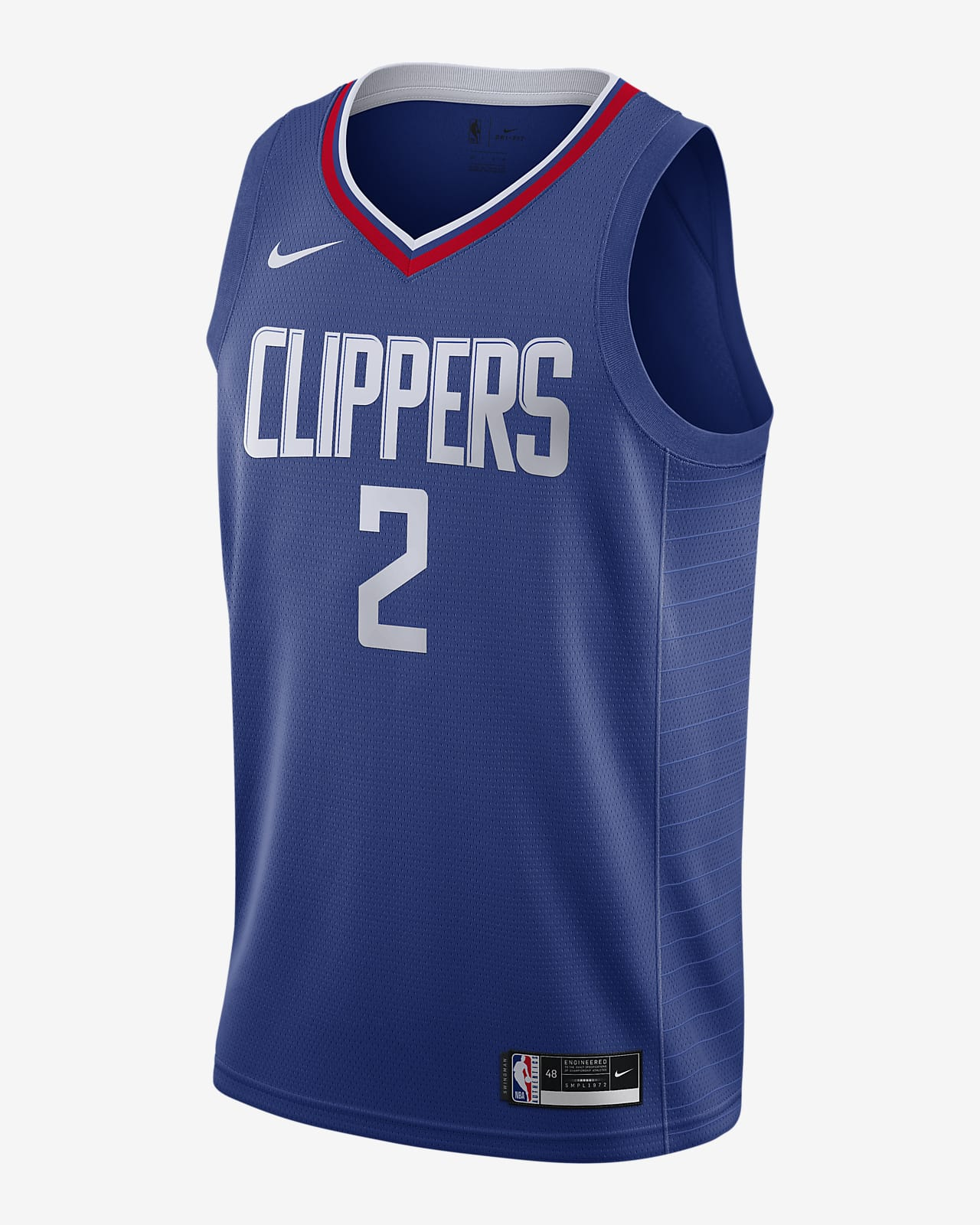 Camiseta Nike NBA Swingman Kawhi Leonard Clippers Icon Edition 2020